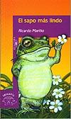 """Portada de """"El sapo más lindo"""", de Ricardo Mariño"""